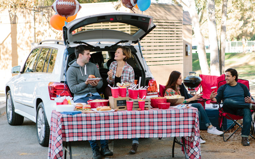 Tailgate Party with Friends